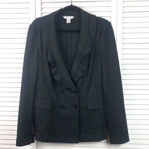 White House Black Market Buttoned Coat